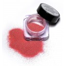 Nail glitter powder - rainbow red